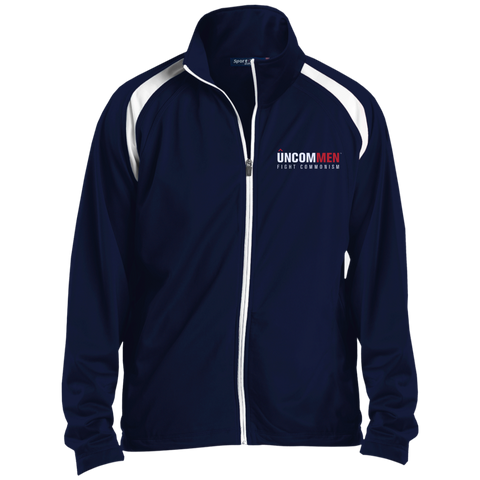 Image of UNCOMMEN Fight Commonism - Raglan Sleeve Warmup Jacket