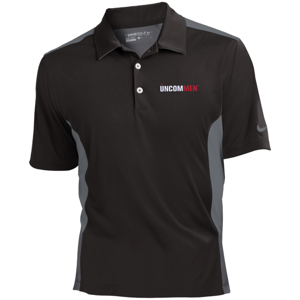 UNCOMMEN Logo - Nike Golf Dri-Fit Colorblock Mesh Polo