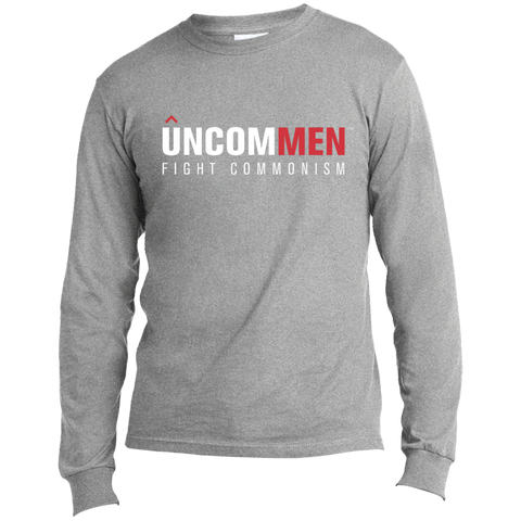 Image of UNCOMMEN Fight Commonism - Long Sleeve Made in the US T-Shirt
