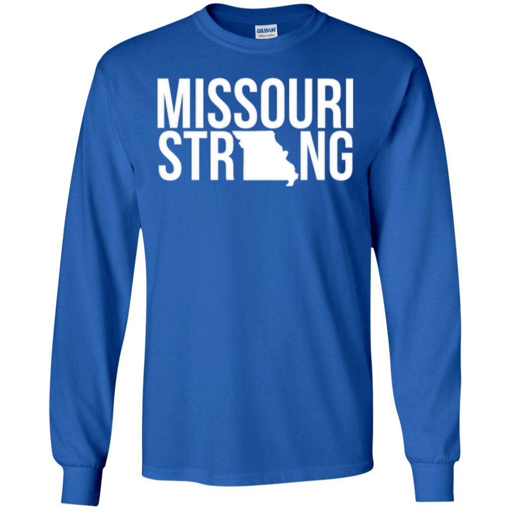 MO Strong - Long Sleeve T shirt - Kick Merch - 1