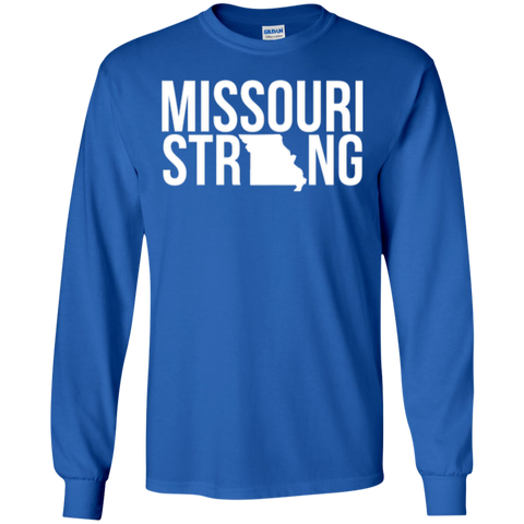 Image of MO Strong - Long Sleeve T shirt - Kick Merch - 1