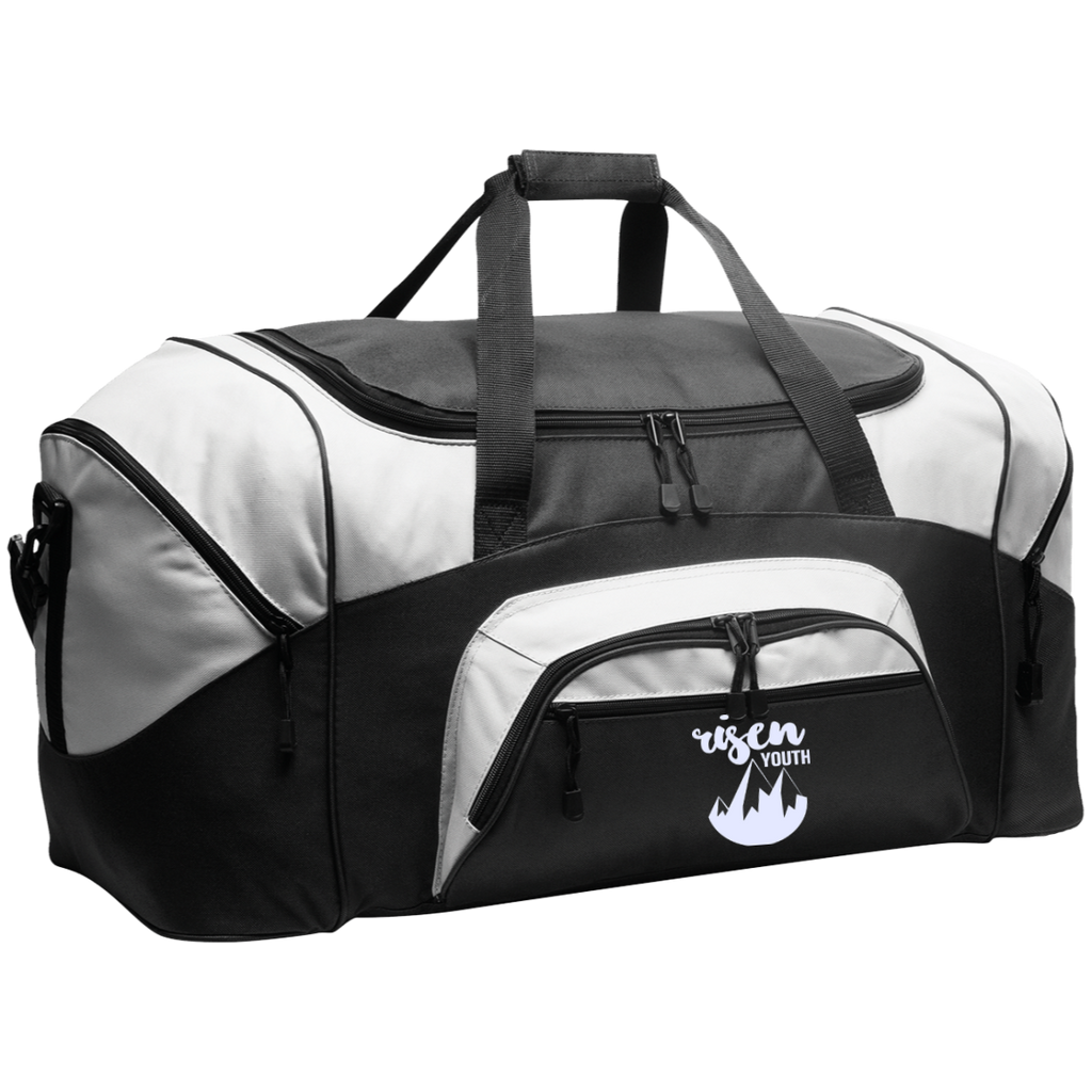 RISEN Youth Port & Co. Colorblock Sport Duffel