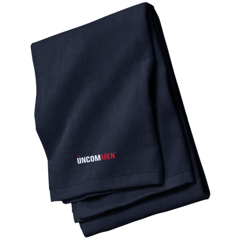 Image of UNCOMMEN Logo - Embroidered Beach Towel