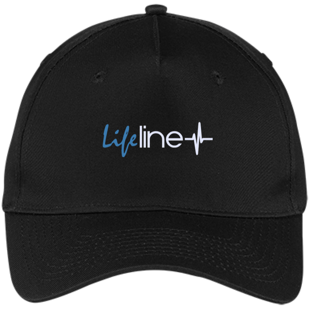 LIFE Line Five Panel Twill Cap