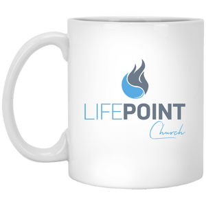 Life Point 11 oz. White Mug