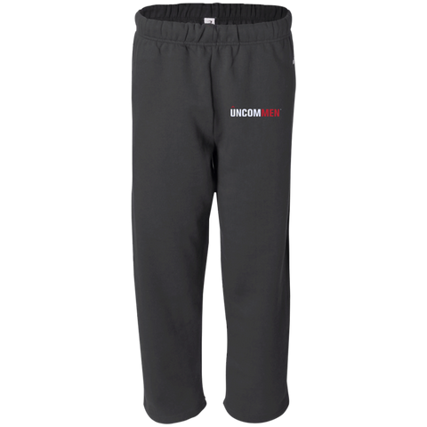 Image of UNCOMMEN Logo - Open Bottom Sweat Pant with Pockets