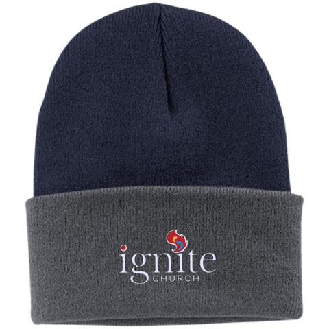 Image of IGNITE church - Knit Cap - Kick Merch - 9