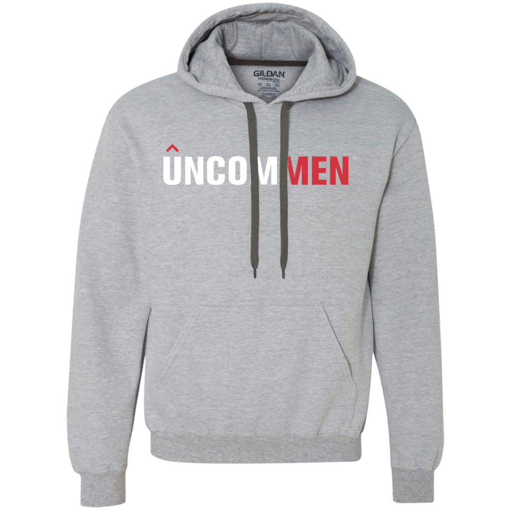 UNCOMMEN Logo - Heavyweight Pullover Fleece Sweatshirt