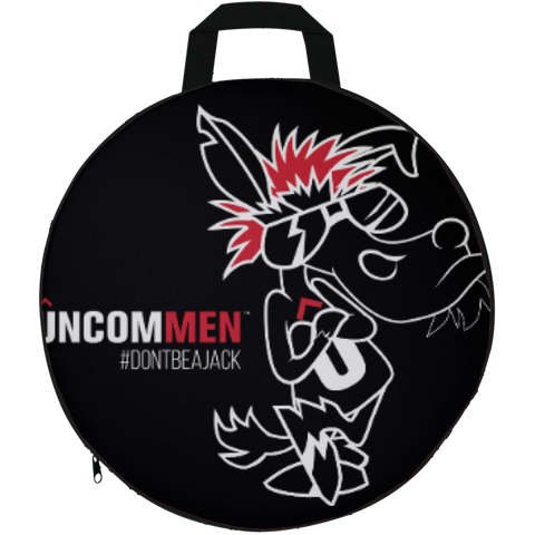 Image of UNCOMMEN Don't Be A Jack - Round Seat Cushion
