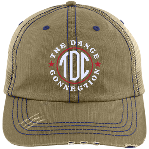 Image of TDC - Distressed Unstructured Trucker Cap