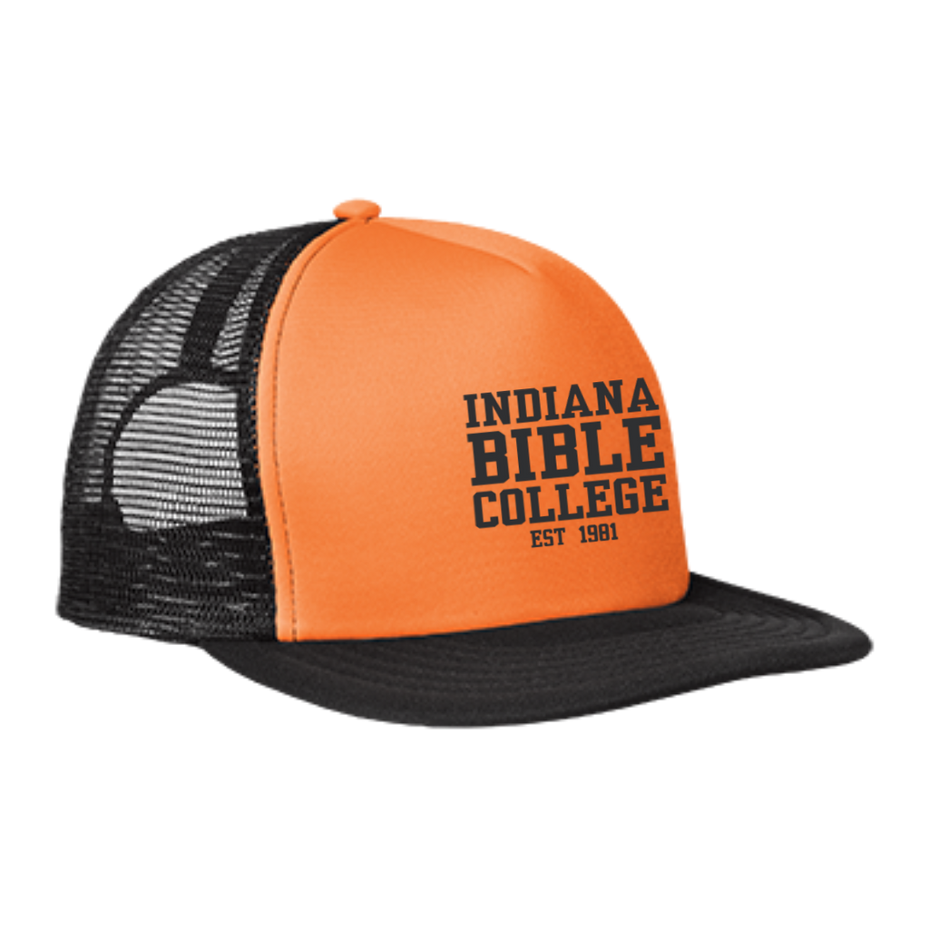 IBC - Clean Text - Trucker Hat with Snapback - Kick Merch - 5