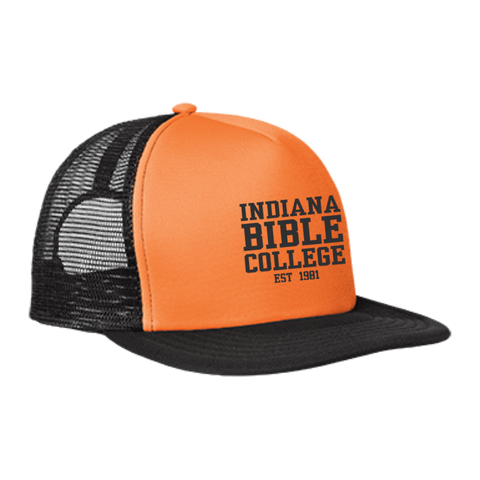 Image of IBC - Clean Text - Trucker Hat with Snapback - Kick Merch - 5