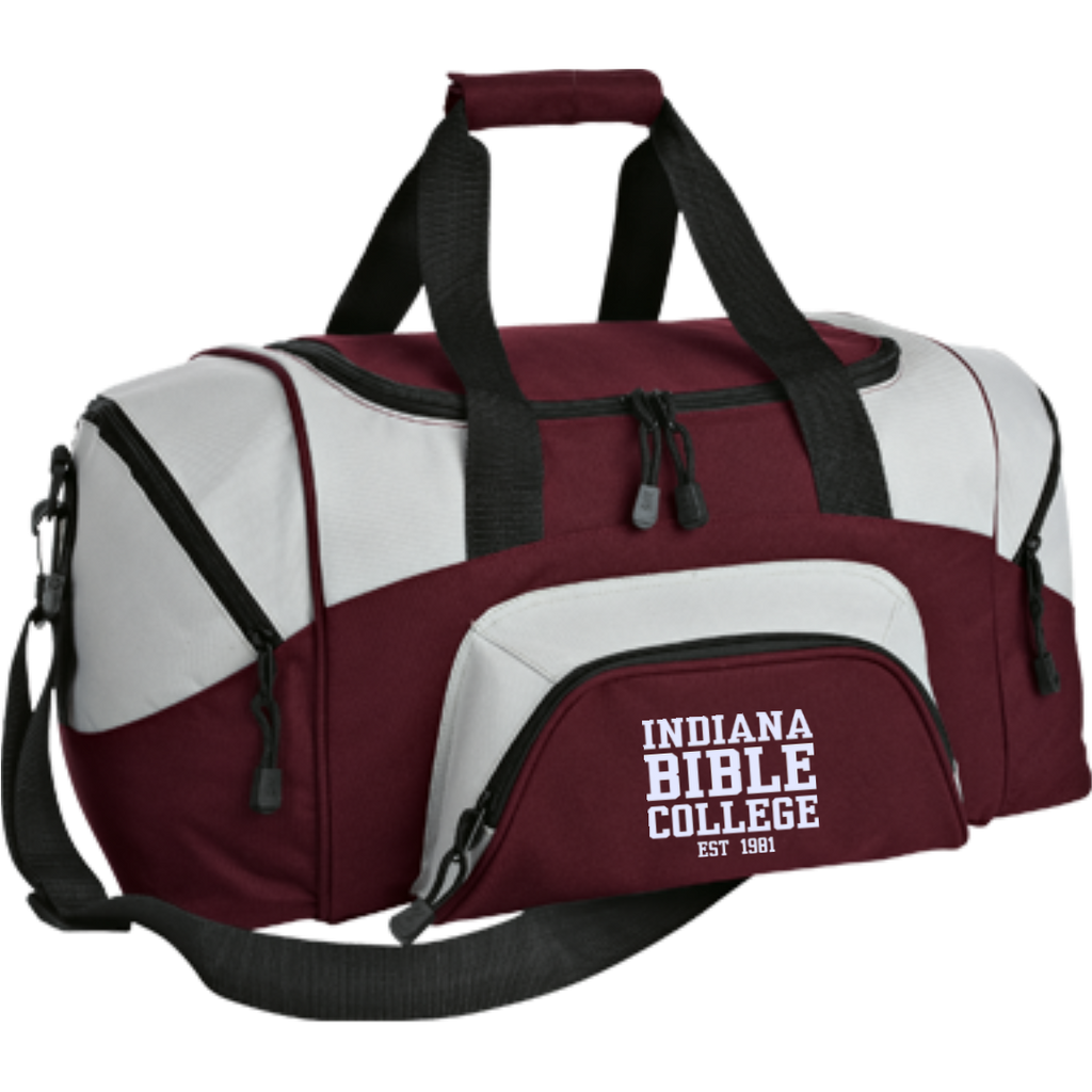 Small Colorblock Sport Duffel Bag - Kick Merch - 3