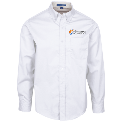 The Pentecostals Of Cooper City - Men's LS Dress Shirt