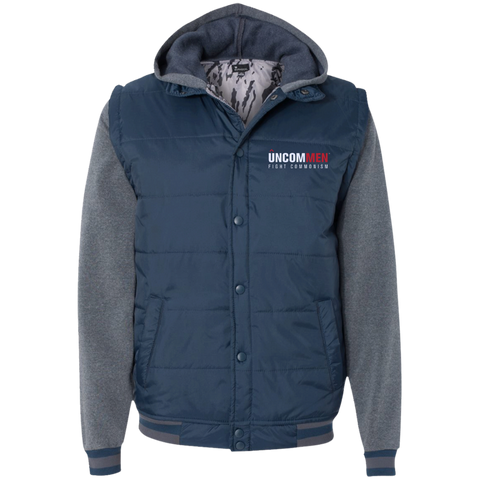 Image of UNCOMMEN Fight Commonism - Nylon Vest with Fleece Sleeves
