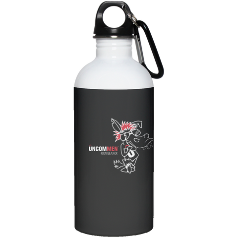 UNCOMMEN Don't Be A Jack - 20 oz Stainless Steel Water Bottle