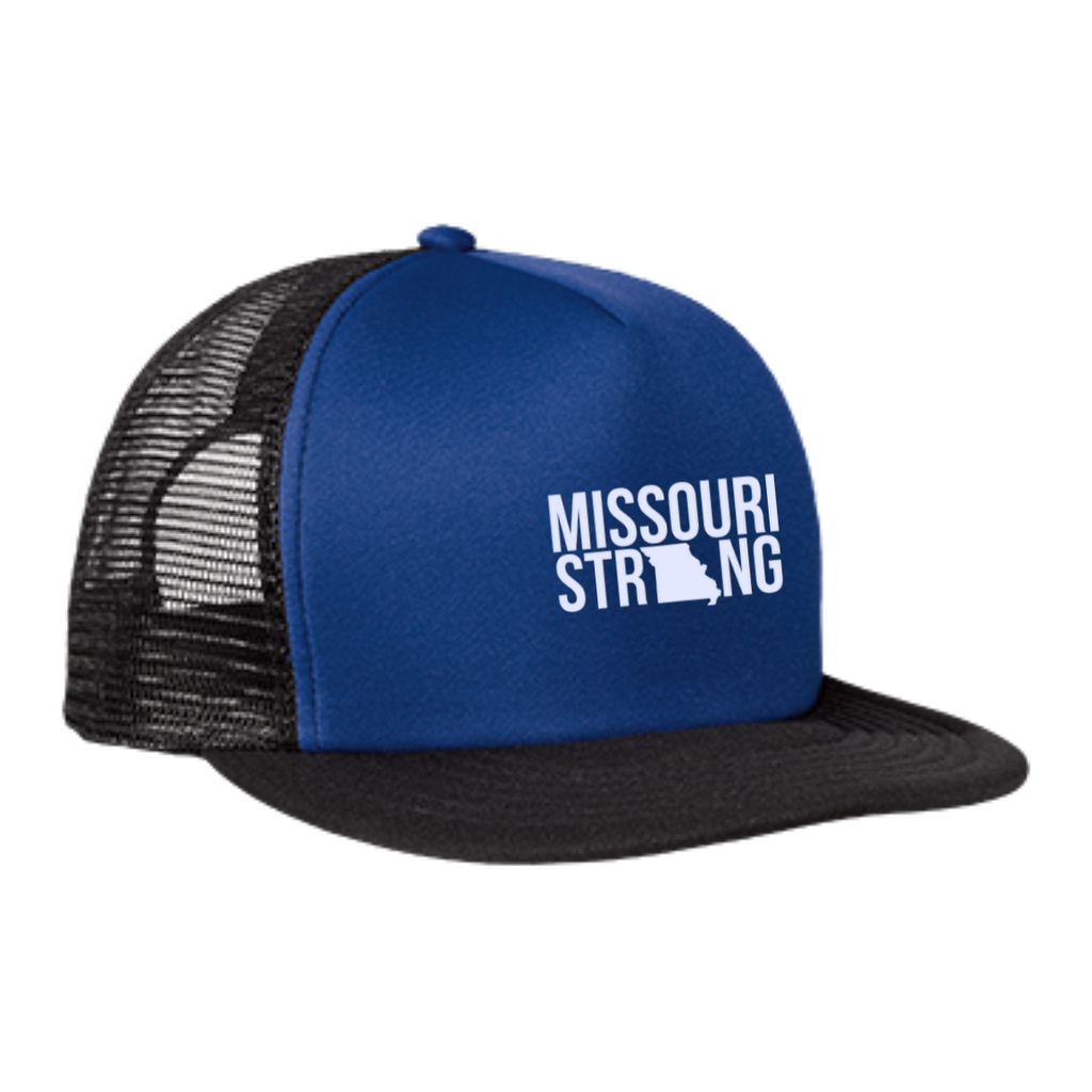 MO Strong - Trucker Hat with Snapback - Kick Merch - 4
