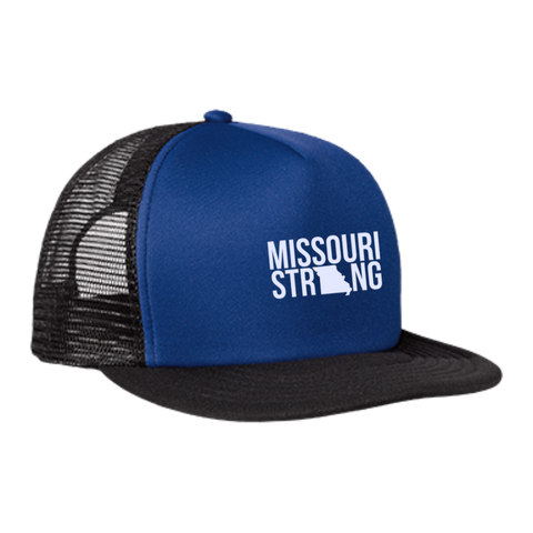 Image of MO Strong - Trucker Hat with Snapback - Kick Merch - 4