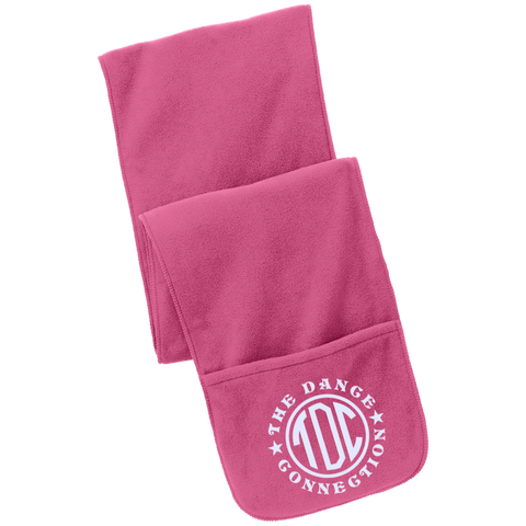 Image of TDC - Fleece Scarf with Pockets