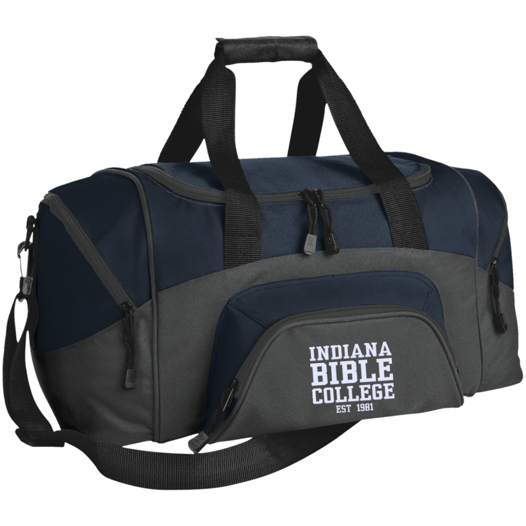 Small Colorblock Sport Duffel Bag - Kick Merch - 8