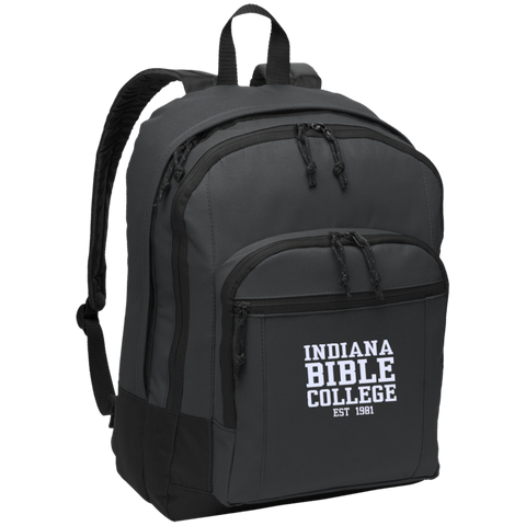 Image of IBC - Basic Backpack - Clean Text Design - Kick Merch - 3