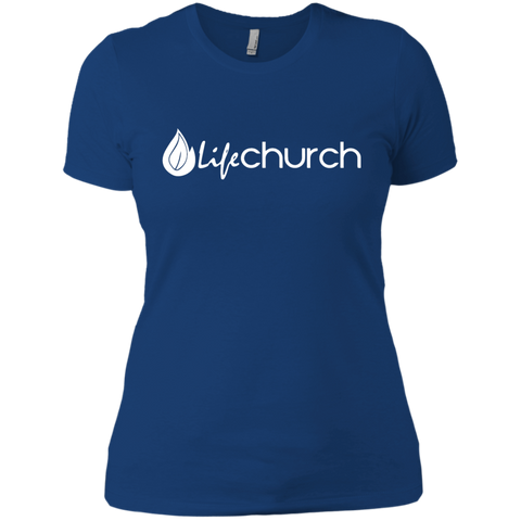 Image of LIFE Church Next Level Ladies' Boyfriend Tee