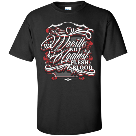 Image of We Wrestle Not - Cotton T-Shirt - Godly Wear - Kick Merch - 4