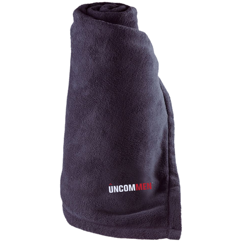 UNCOMMEN Logo - Large Fleece Blanket