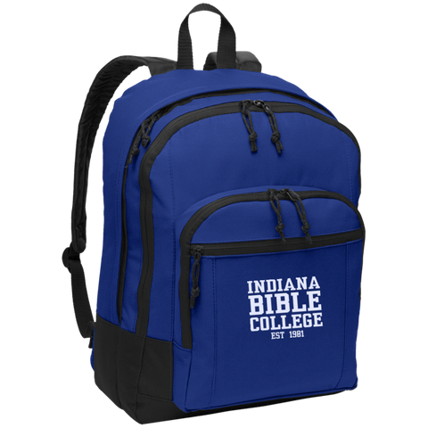 Image of IBC - Basic Backpack - Clean Text Design - Kick Merch - 1