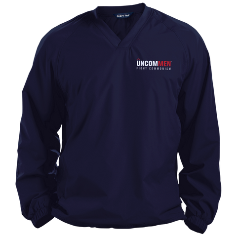 Image of UNCOMMEN Fight Commonism - Pullover V-Neck Windshirt