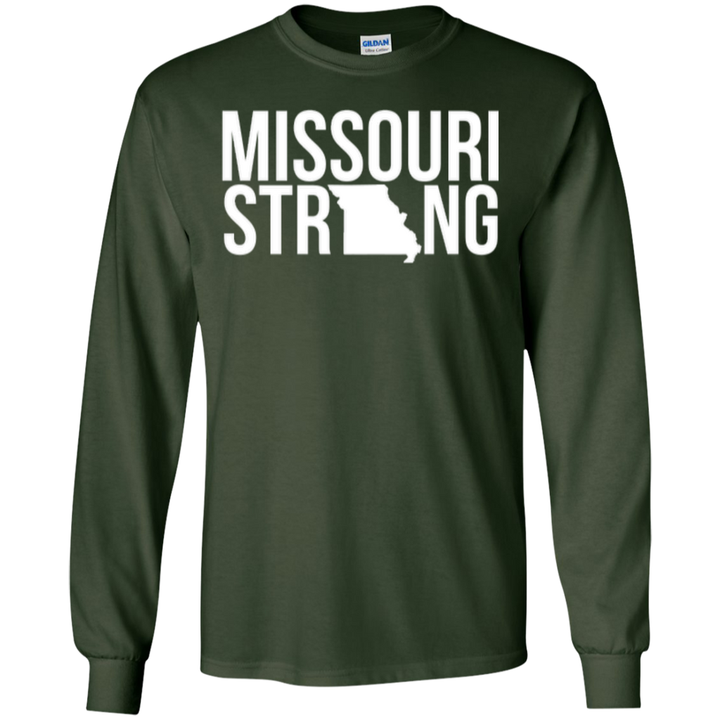 MO Strong - Long Sleeve T shirt - Kick Merch - 4
