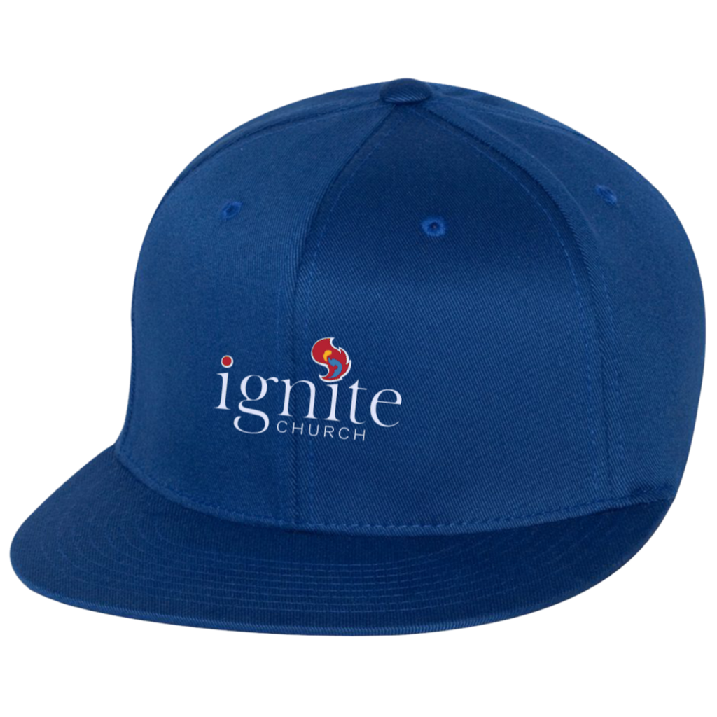 IGNITE church - Flat Bill Twill Flexfit Cap - Kick Merch - 6