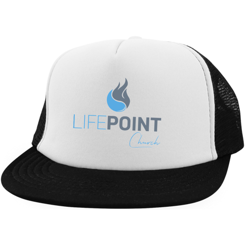 Image of Life Point Trucker Hat with Snapback