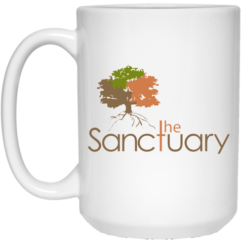 The Sanctuary - 15 oz. White Mug