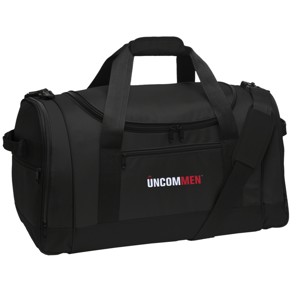 UNCOMMEN Logo - Travel Sports Duffel