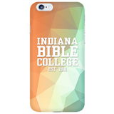 IBC Phone Case - Geometrical Design with Clean Text - Kick Merch - 6