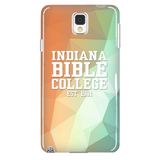 IBC Phone Case - Geometrical Design with Clean Text - Kick Merch - 3