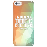 IBC Phone Case - Geometrical Design with Clean Text - Kick Merch - 1
