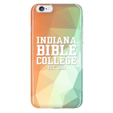 IBC Phone Case - Geometrical Design with Clean Text - Kick Merch - 7