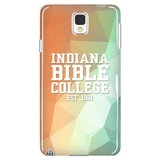 IBC Phone Case - Geometrical Design with Clean Text - Kick Merch - 2