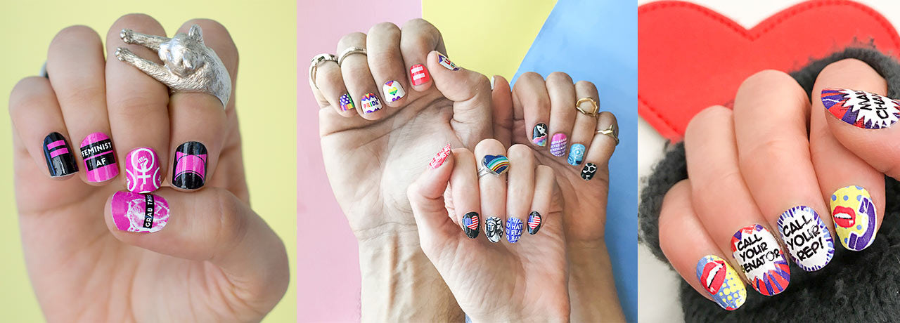Cause Claws Nail Art For Nasty Women