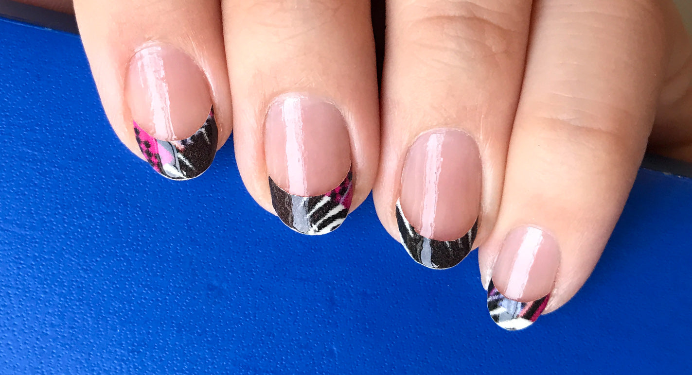 How To Get Flawless French Tips With NailSnaps