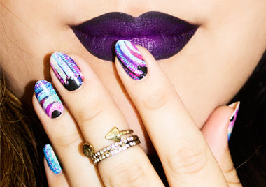 Dont let anyone full your color edgybrnail art prinsesfo Gallery