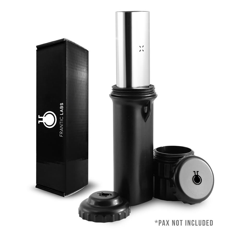 PAX 2 or PAX 3 Protective Case SMELL PROOF with Removable Stash Containers