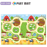 Baby Care Playmat - Busy Farm - Large