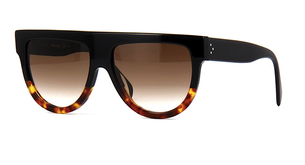 CELINE SHADOW 41026 S - BLACK AND TORTOISE -  - Sunglasses - Sunglass Trend - 1