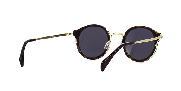 TORTOISE AND GOLD ROUNDED CELINE SUNGLASSES | CL 41082 0ANTIR