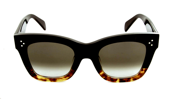 CELINE CL 41098 S - BLACK AND HAVANA -  - Sunglasses - Sunglass Trend - 2