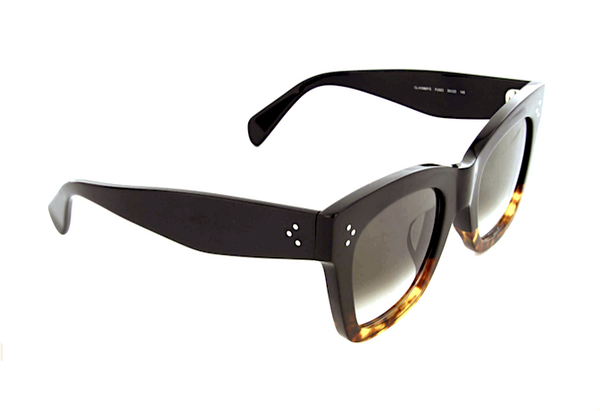 CELINE CL 41098 S - BLACK AND HAVANA -  - Sunglasses - Sunglass Trend - 3