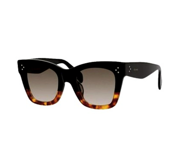 CELINE CL 41098 S - BLACK AND HAVANA -  - Sunglasses - Sunglass Trend - 1